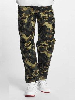 Pelle Pelle Pantalone Cargo Basic mimetico