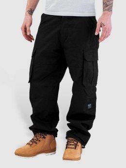 Pelle Pelle Pantalone Cargo Basic nero