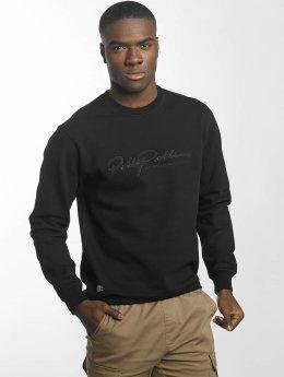 Pelle Pelle Pullover Signature schwarz