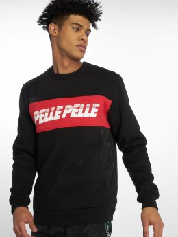 Pelle Pelle Pullover Sayagata Cut schwarz