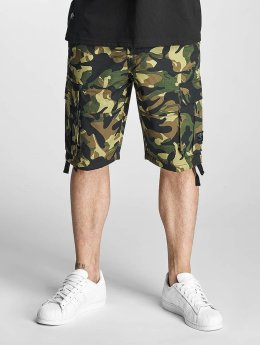 Pelle Pelle Shorts Basic Cargo mimetico