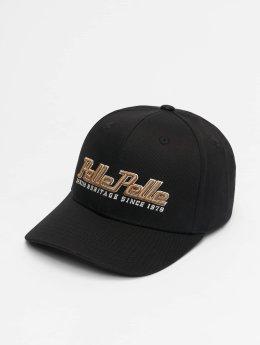 Pelle Pelle Snapback Caps Heritage Curved čern