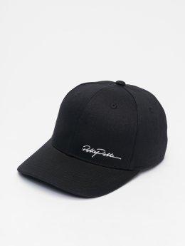 Pelle Pelle Snapback Caps Signature Curved svart