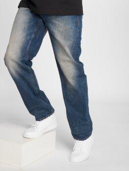 Pelle Pelle Straight Fit Jeans Baxter modrý