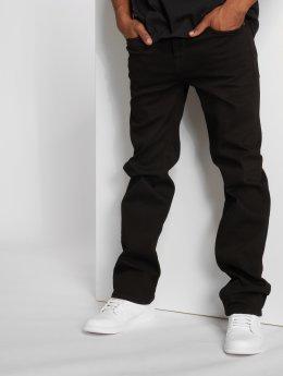 Pelle Pelle Straight fit jeans Baxter zwart