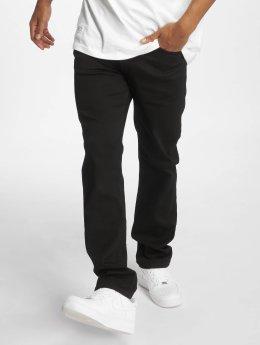 Pelle Pelle Straight fit jeans F.u. Floyd zwart