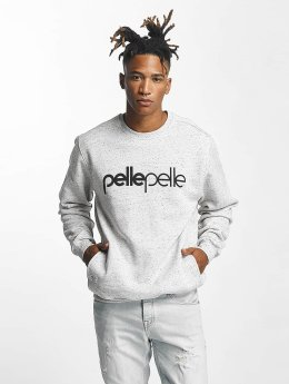 Pelle Pelle Sweat & Pull Back 2 Basics Crew Neck gris