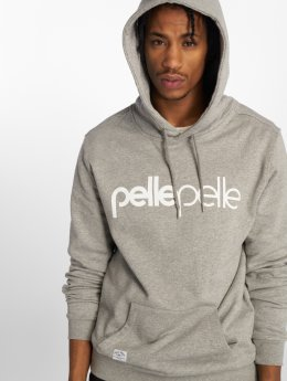 Pelle Pelle Sweat capuche Back 2 The Basics gris