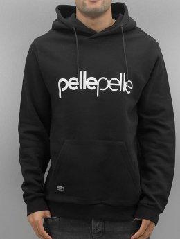 Pelle Pelle Sweat capuche Back 2 Basics noir