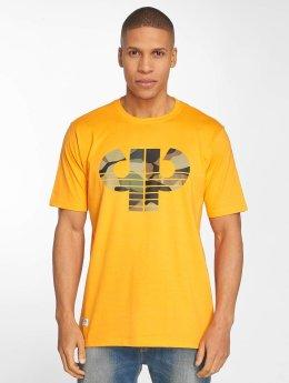 Pelle Pelle T-paidat Camo Icon oranssi