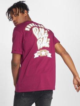 Pelle Pelle T-paidat Soda Club purpuranpunainen