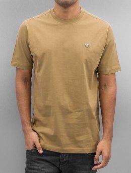 Pelle Pelle T-paidat Core Icon Plate ruskea
