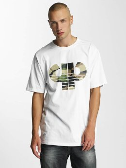 Pelle Pelle T-Shirt Combat Icon blanc