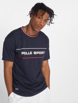 Pelle Pelle T-Shirt Linear blau