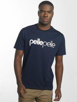 Pelle Pelle T-Shirt Back 2 Basics bleu