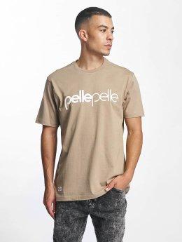 Pelle Pelle T-Shirt Back 2 Basics braun