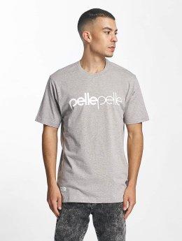 Pelle Pelle T-Shirt Back 2 Basics grau