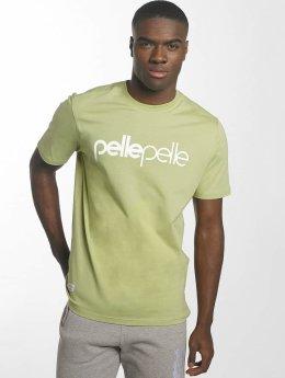 Pelle Pelle T-Shirt Back 2 Basics grün