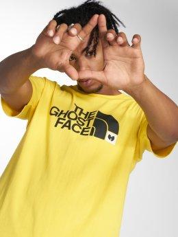 Pelle Pelle T-shirt x Wu-Tang The Ghostface gul