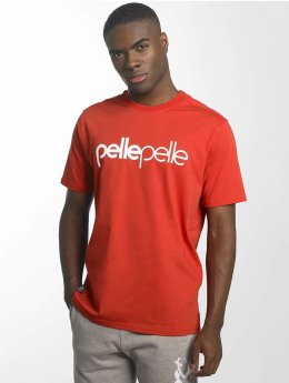 Pelle Pelle T-Shirt Back 2 Basics rouge