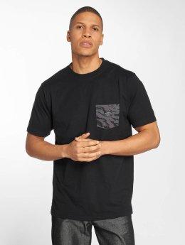 Pelle Pelle T-Shirt Jungle Pocket schwarz