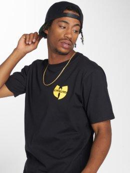 Pelle Pelle T-Shirt x Wu-Tang Double Batlogo schwarz