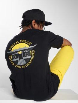 Pelle Pelle T-Shirt x Wu-Tang Temple Chambers schwarz