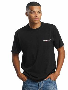 Pelle Pelle t-shirt Flags zwart
