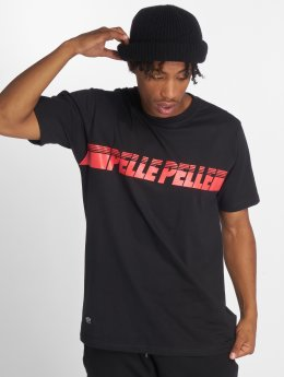 Pelle Pelle t-shirt Sayagata Fast zwart