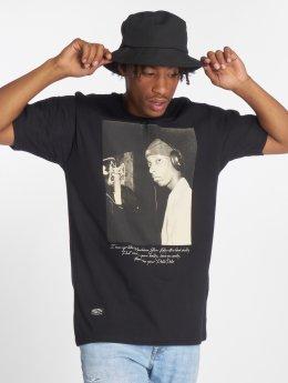 Pelle Pelle t-shirt Ebonics zwart