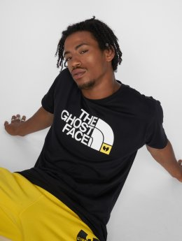 Pelle Pelle T-skjorter x Wu-Tang The Ghostface svart