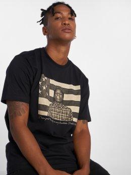 Pelle Pelle T-skjorter A$ap Flag svart