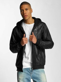 Pelle Pelle Übergangsjacke Mix-Up Padded Hooded schwarz