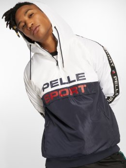 Pelle Pelle Veste mi-saison légère Vintage Sports Transition blanc