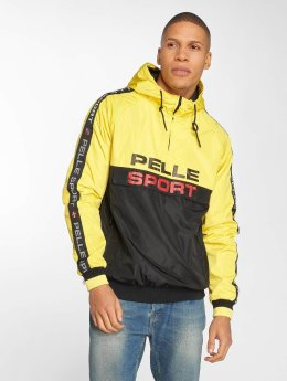 Pelle Pelle Veste mi-saison légère Vintage Sports jaune