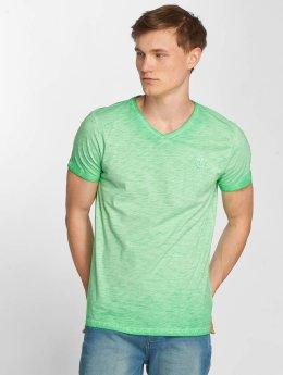 Petrol Industries Camiseta Melange verde