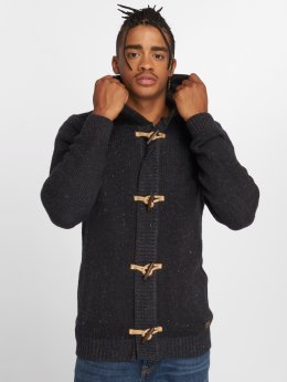 Petrol Industries Cardigan Hooded black