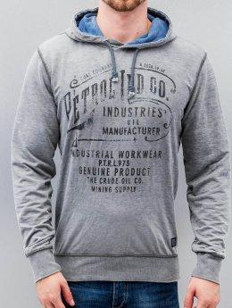 Petrol Industries Hoody Workwear grau
