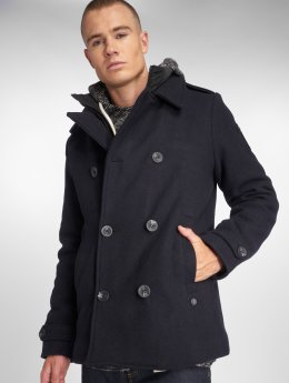 Petrol Industries Parka Wool blauw