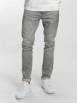 Petrol Industries Slim Fit Jeans Jackson grijs