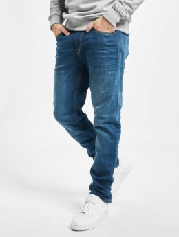 Petrol Industries Straight fit jeans Thruxton blauw