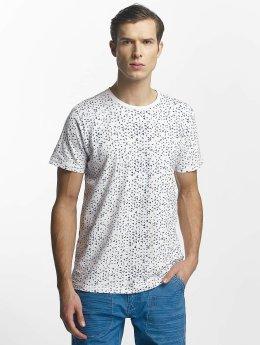 Petrol Industries T-Shirt Triangle blanc