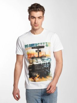 Petrol Industries T-Shirt Georgia blanc