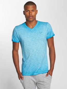 Petrol Industries T-Shirt Melange blau