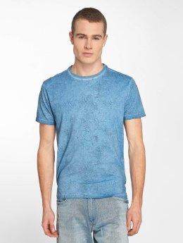 Petrol Industries T-Shirt Waterfall bleu