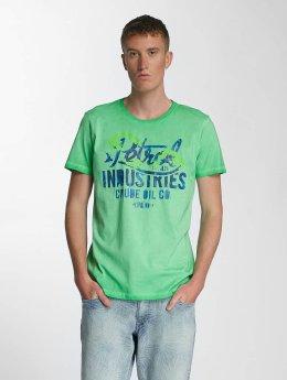 Petrol Industries T-Shirt Crude Oil grün