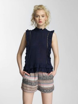 Pieces Bluse pcElton blau