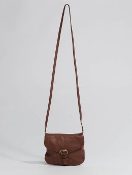Pieces Borsa pcAbby Leather Party marrone
