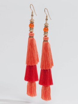 Pieces | pcLynn  orange Femme Boucles d'oreilles