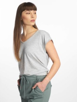 Pieces Camiseta PCBillo Solid  gris